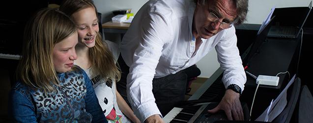 Pianoles kinderen jeugd Haarlem