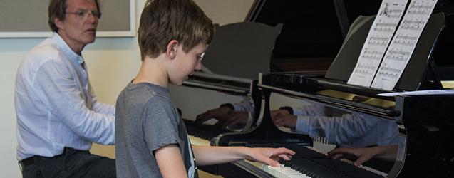 Pianoles cashback actie Hart Haarlem